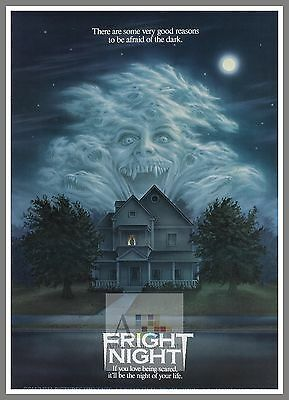 Fright Night   1980's Movie Posters Classic Cinema