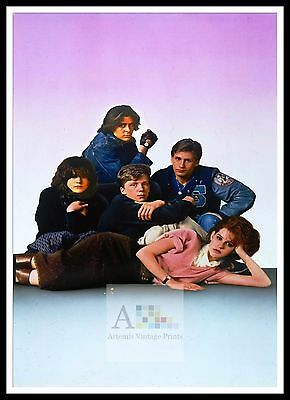 The Breakfast Club  Rock & Roll Movie Posters Classic & Vintage Films