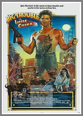 Big Trouble In Little China     1980's Movie Posters Classic Cinema