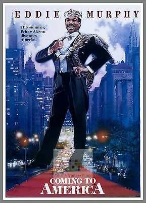 Coming To America    1980's Movie Posters Classic Cinema