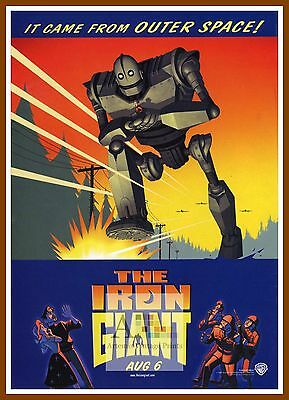 The Iron Giant    1990's Movie Posters Classic Cinema