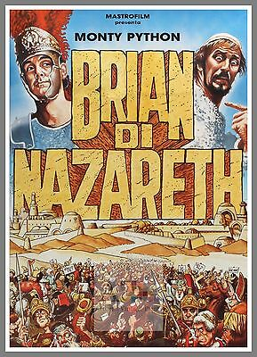 Life Of Brian    1980's Movie Posters Classic Cinema
