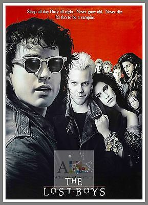 The Lost Boys   1980's Movie Posters Classic Cinema