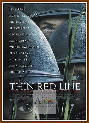 The Thin Red Line   1990's Movie Posters Classic Cinema