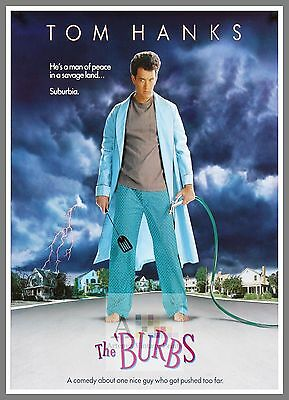 The Burbs      1980's Movie Posters Classic Cinema