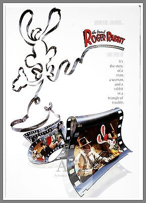 Who Framed Roger Rabbit     1980's Movie Posters Classic Cinema