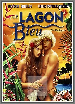 The Blue Lagoon   1980's Movie Posters Classic Cinema