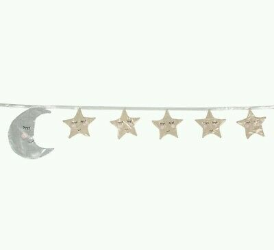 sass & belle Moon and Stars Sleep Tight Bunting