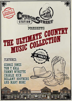 The ULTIMATE COUNTRY MUSIC Collection 3-DVDs Church Street Station BRAND NEW R0