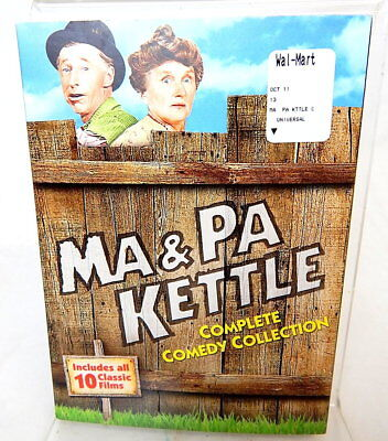 2I DVD MA & PA KETTLE Complete Comedy Collection 10 Classic Films Pack