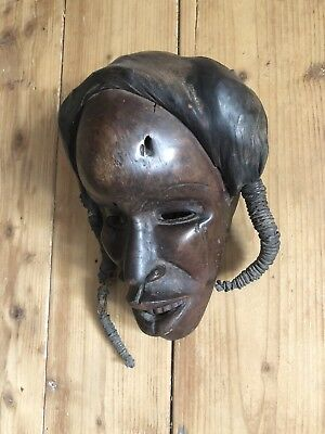 DAN MASK - From the Dan Tribe of Liberia, Ivory Coast, West Africa
