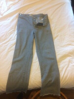 Vintage Horsefly's Old West Clothing Blue Buttonfly custom Western wear Pants