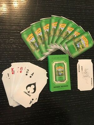 Sierra Nevada Brewing Company DECK PLAYING CARDS New In Box Never Used
