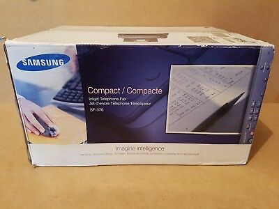 Samsung Compact SF-370 Inkjet Telephone Fax Machine New