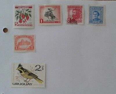South America Stamps - URUGUAY