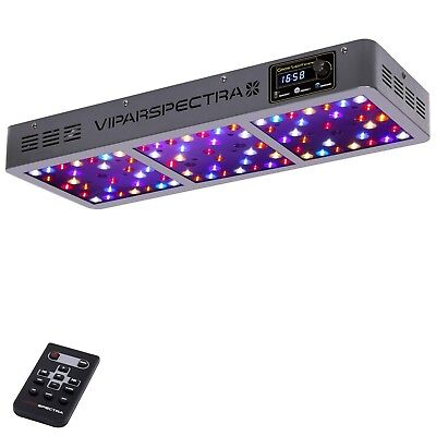 VIPARSPECTRA Timer Control Series VT450 450W LED Grow Light - Dimmable Veg/Bloom