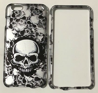 Apple iPhone 6 Plus Case w/ Skulls • Cracked But Fits Perfectly.