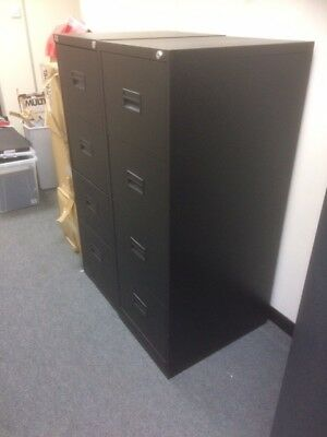 4 Drawer Filing Cabinets (x2)