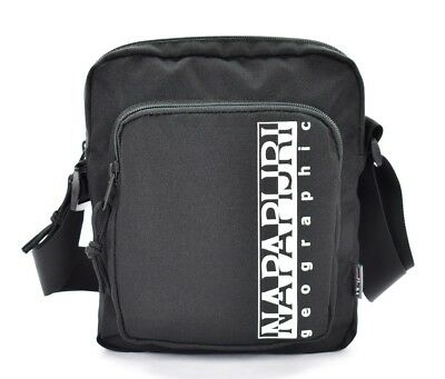 BORSA TRACOLLA UOMO Napapijri Happy Cross Pocket 1 Black Scontata ... 8f0133fb1af