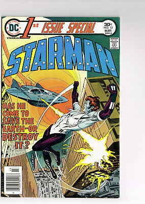 1st ISSUE SPECIAL #12 STARMAN DC COMICS 1976 NM 1st APPEARANCE & ORIGIN BRONZE