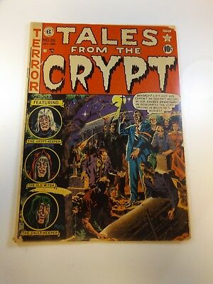 Tales From The Crypt #26 full length spine split poor Huge auction going on now!