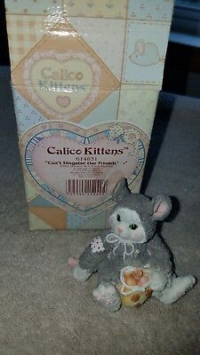 Calico Kittens CAN'T DISGUISE OUR FRIENDSHIP 614831 With Box