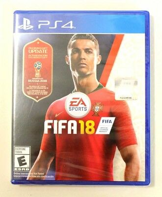 *NEW* FIFA 18 (World Cup Russia 2018 Update Edition) (Sony PlayStation 4, 2017)