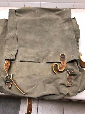 Vintage Military Style Backpack