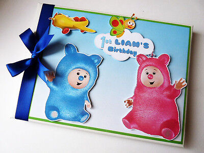 Personalised Baby Tv Birthday Guest Book - Any Design