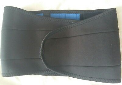 "Sports Back Support Waist 30""/32"" Strong Velcro Fastening. Pre Owned. VGC"