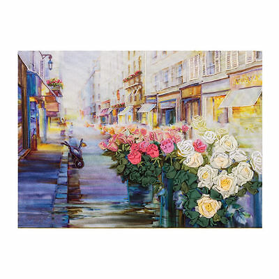 Street Scene Ribbon Embroidery Kit