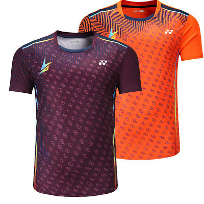 Free printing New Men badminton shirts ,sport tennis shirts Gym t-shirt Running