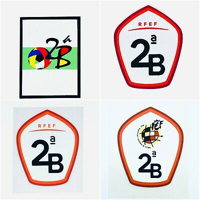 Official 2ª B Second Division La Liga patch badge Spain Player Issue. Shirt