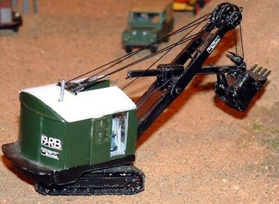 Bucyrus Erie #l9RB Face Shovel Excavator Kit 1/76 Scale (OO) By Langley Models