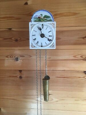 "Miniature Black Forest ""Jockele"" Clock."