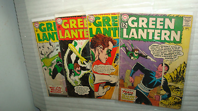 Green Lantern 15 19 24 and 25 lot of four