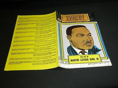 Golden Legacy Vol.13: THE LIFE OF MARTIN LUTHER KING JR. (O) 1970 NM/MT (9.6)