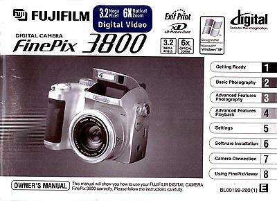fujifilm finepix 40i digital camera user manual 3 99 picclick uk rh picclick co uk fuji finepix 3800 review Fujifilm Digital Camera