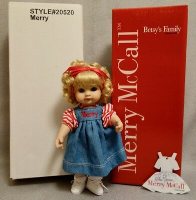 """MERRY McCALL - BETSY FAMILY 9"""" TONNER Doll from 2000 - MINT & RARE"""