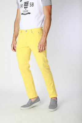Jaggy  Jeans Uomo Giallo J1551T814-1M
