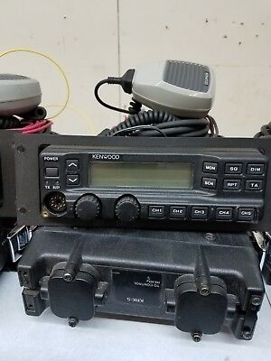 Kenwood TK790H TK-790H VHF remote mount 148-174 Mhz KCH11 with accessories Used