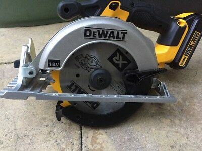 DEWALT DCS391 18V XR Cordless Circular Saw. Used Once
