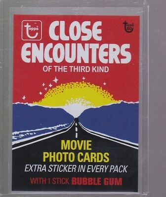 2018 Topps 80th Anniversary Wrapper Art Card #89 - 1978 Close Encounters PR 190