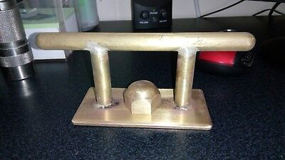 Vintage Brass Boat Cleat