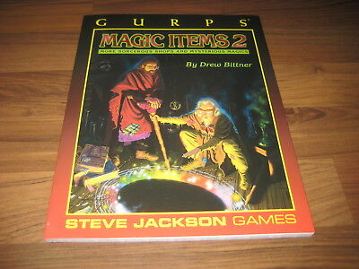 GURPS 3rd Edition Magic Items 2  Softcover 1999 Steve Jackson Games TOP