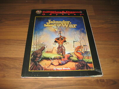 AD&D 2nd Edition Odyssey Jakandor, Island of War Accessory TSR 9511 New Sealed