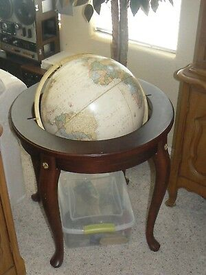 Queen Anne 16 Inch Floor World Globe