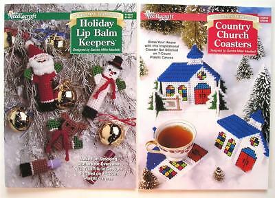Plastic Canvas Christmas.2 Plastic Canvas Christmas Patterns Holiday Lip Balm Keepers Church Coasters