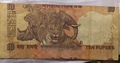 10 rupees shift error note india