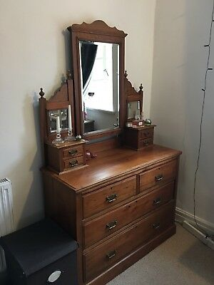 Edwardian Chest Of Drawer, Antique Chest Of Drawers, Old Bedroom Furniture